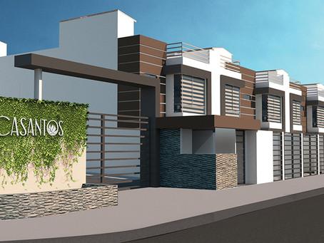 Constructora Barrazueta presenta: Casantos, Casas en La Armenia