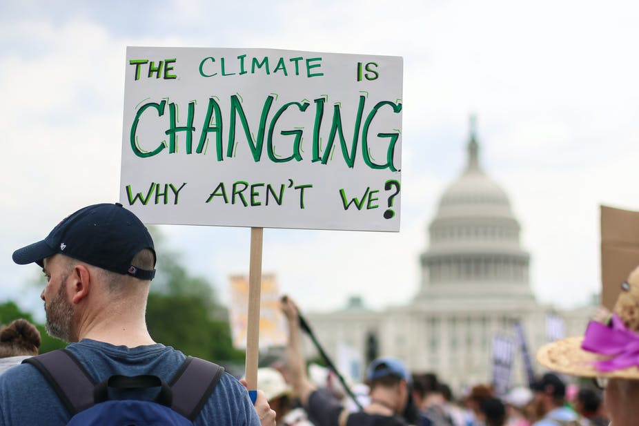 The Climate Ist Changin, Why Arent't We?