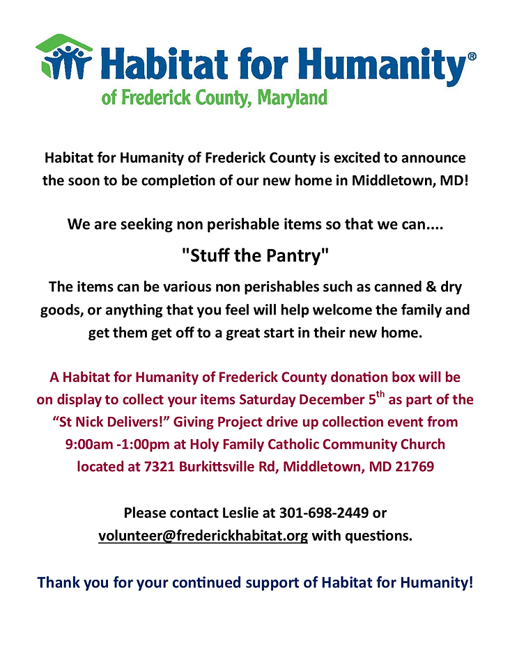 Habitat for Humanity - Middletown House