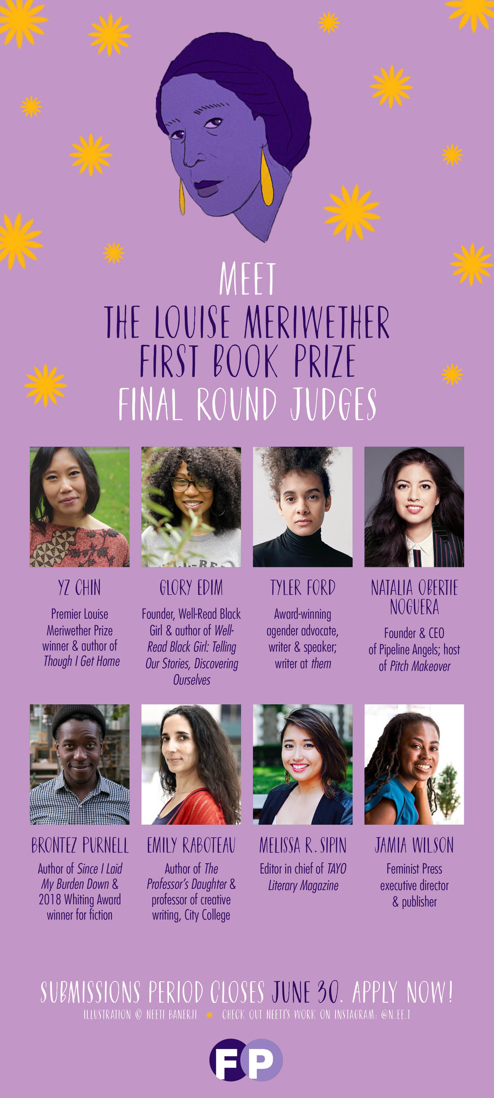 2019 Louise Meriwether First Book Prize