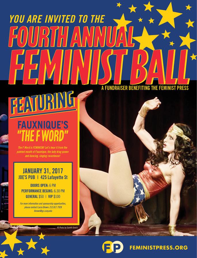 2017 Feminist Press Fall Ball fundraising event