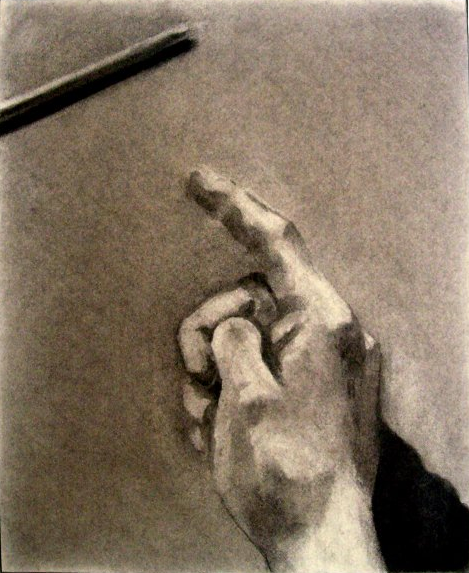 2003 Charcoal and graphite