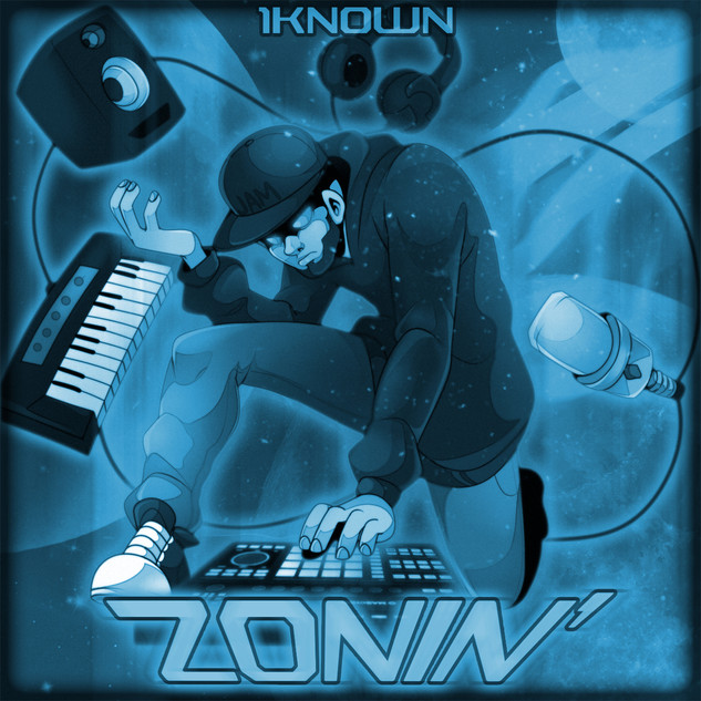 Zonin' Cover Art (Clean 2)