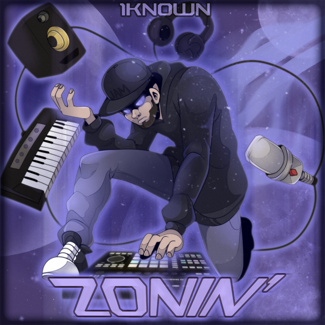Zonin' Cover Art (Clean)
