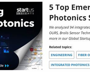 StartUs Insights ranks Scintil Photonics in the 5 Top Emerging Integrated Photonics Solutions