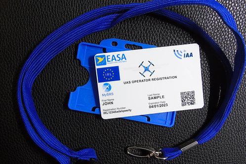 IRELAND drone registration card set