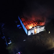 Barn fire, 2018