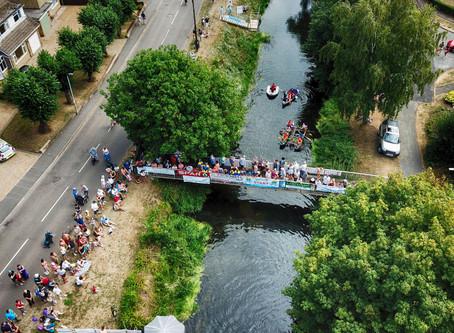 Market Deeping annual raft race