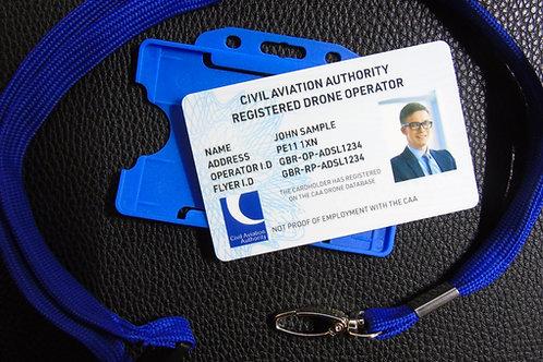 Registered Drone Operator ID set