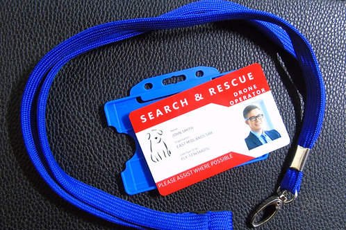 SEARCH AND RESCUE ID BADGE