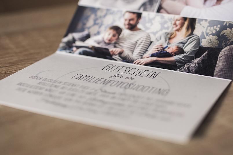 Gutscheine Für Familienfots Und Veranstaltungen