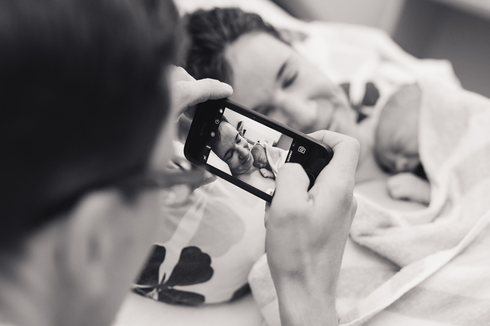 Geburtsfotografie Berlin Geburtsreportage