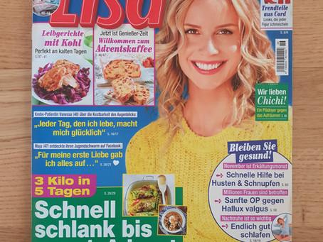 """Interview im Frauenmagazin """"Lisa"""""""