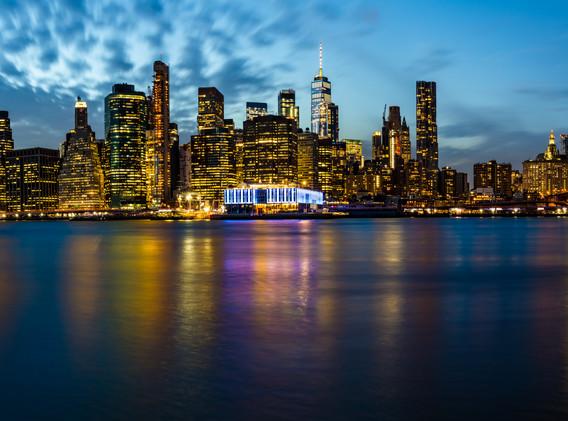 Manhattan Skyline - New York, USA