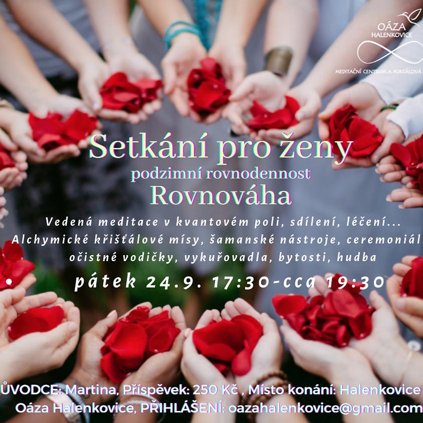 Setkání pro ženy - podzimní rovnodennost ROVNOVÁHA