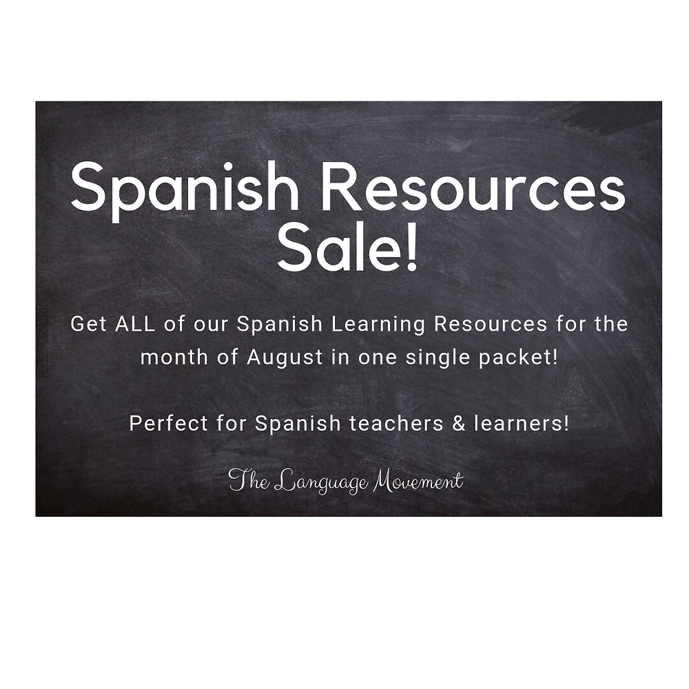 spanish resources, spanish learning, spanish teachers, spanish student