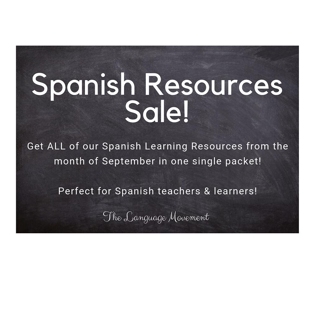 spanish resources, spanish learning, the language movement, lenguaje de la vida, spanish readings