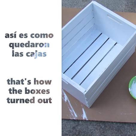 Spanish Vocab Vlog: Mi nuevo proyecto!