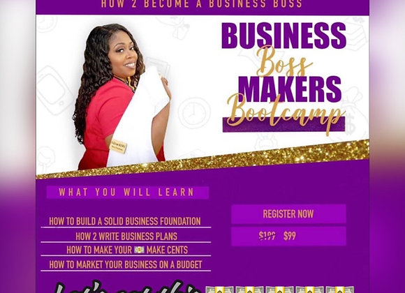 Boss Makers Bootcamp