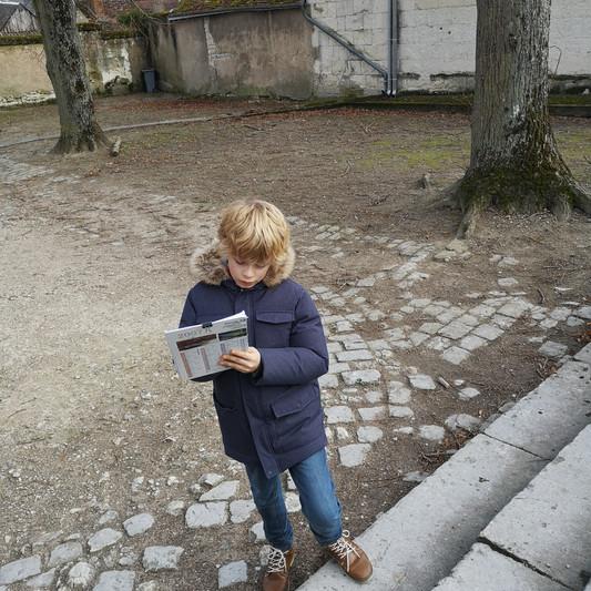 Treasure hunting, while learning history in Saint-Aignan