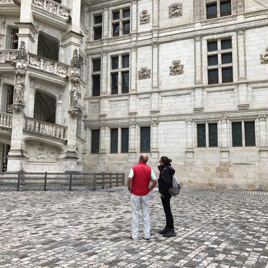 Explanations at Blois Chateau