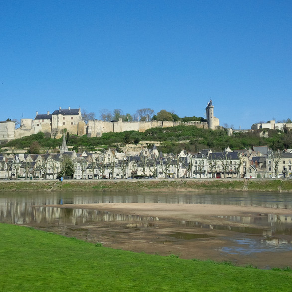 Great fortress of Henry II of England in Chinon