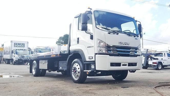 2022 Isuzu FTR 22' Jerr-Dan Rollback Car Carrier