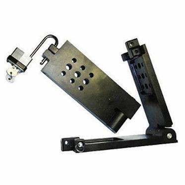 Foldable lightbar bracket
