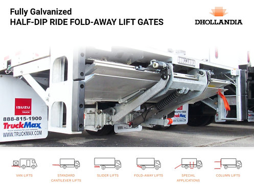 3300 Lbs Fully Galvanized Lift Gate