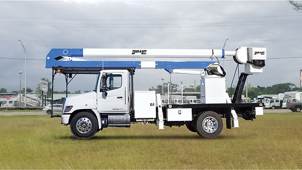 2020 Hino 268A Dur-A-Lift DTA3-70 aerial lift Forestry Bucket Truck