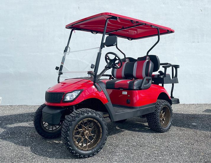 ROYAL EV R4L 4 passenger electric golf cart *