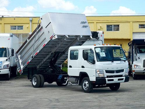 2020 Mitsubishi FE160 14' Aluminum Landscape Dump Truck