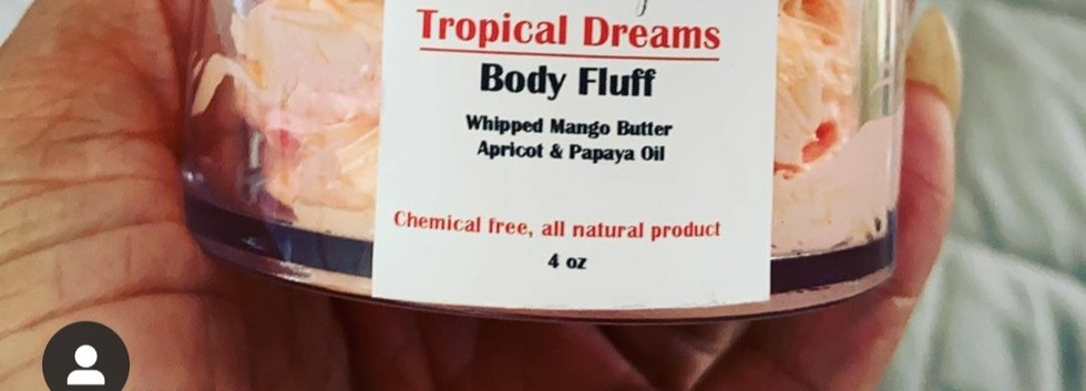 Tropical Dreams Body Fluff