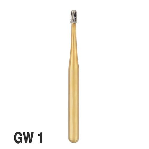 מקדחי GW - מקביל מעוגל