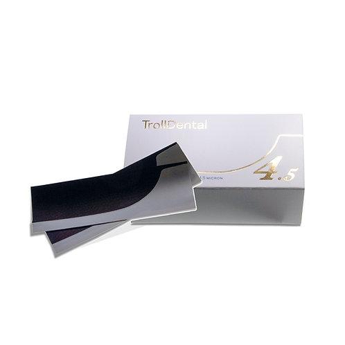 נייר ארטיקולציה TROLLFOIL כחול 4.5 מיקרון, 80 יחידות
