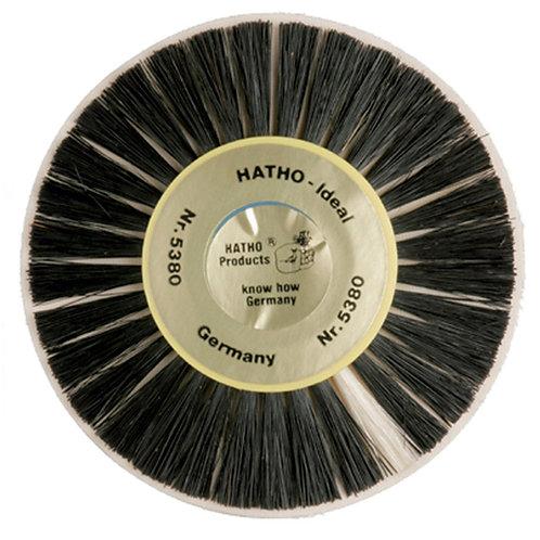 מברשת שיער עם בד 3 שורות