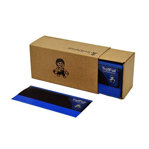 נייר ארטיקולציה TROLLFOIL כחול 8 מיקרון, 100 יחידות