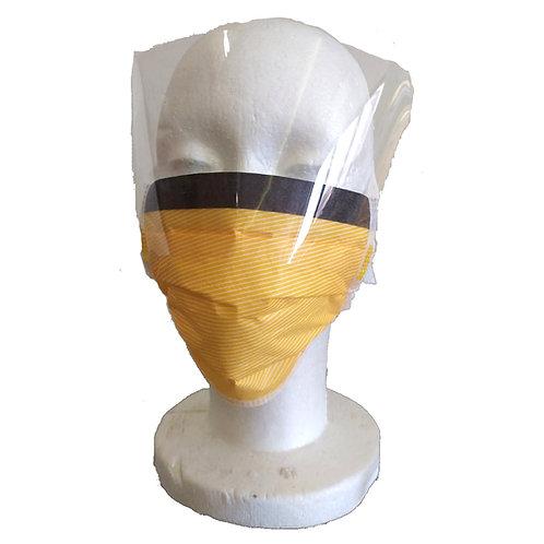 מסכת פנים עם שקף הגנה