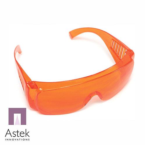 משקפיים הגנה כתומות לאור