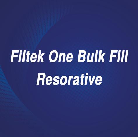 Filtek One Bulk Fill Resorative