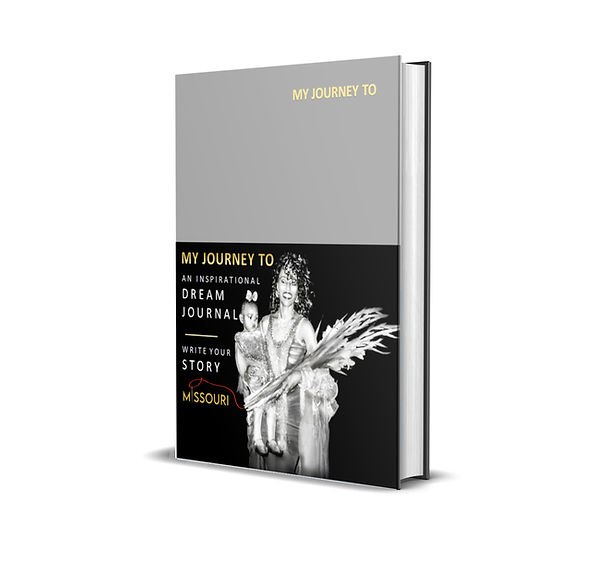 MY JOURNEY - DREAM JOURNAL BOOK COVER st