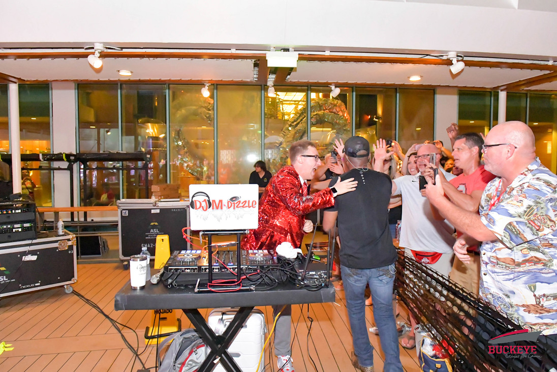 Congrats Darius Rucker on an amazing show. On The Buckeye Cruise 4 Cancer