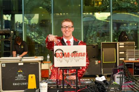 DJ MDizzle opening up for Darius Rucker on The Buckeye Cruise 4 Cancer 2020