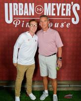 DJ MDizzle with Coach Urban Meyer