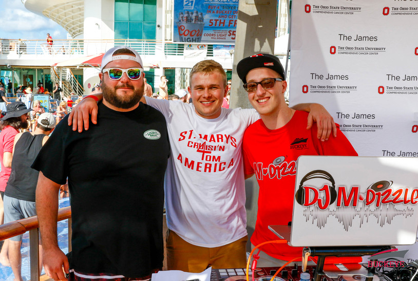 The Dream Team that helped DJ MDizzle raise over $25,000 for The Buckeye Cruise 4 Cancer 2020