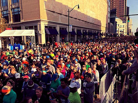 Performing infront of 14,000 Runners at CapCity Marathon