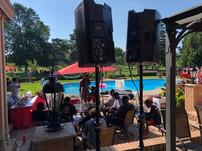 Performing @ Urban Meyers House