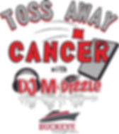 DJ M-Dizzle - logo (Toss Away Cancer) 03