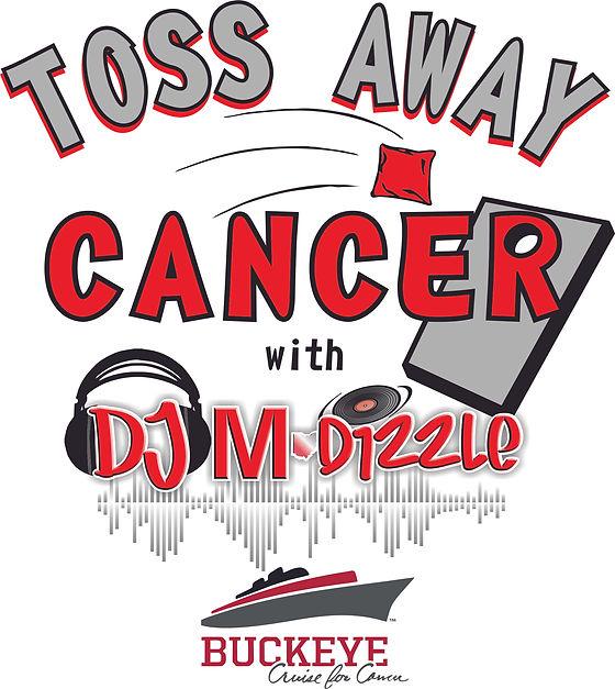 DJ M-Dizzle - logo (Toss Away Cancer) 03