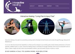 Inter active website